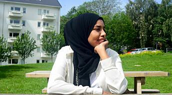 Lyden av søppelbilen minner Ayan Osman om krigen