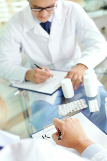 Fastleger med fulle pasientlister har sjelden tid til å ta den ekstra samtalen om kosthold. (Foto: Istockphoto)