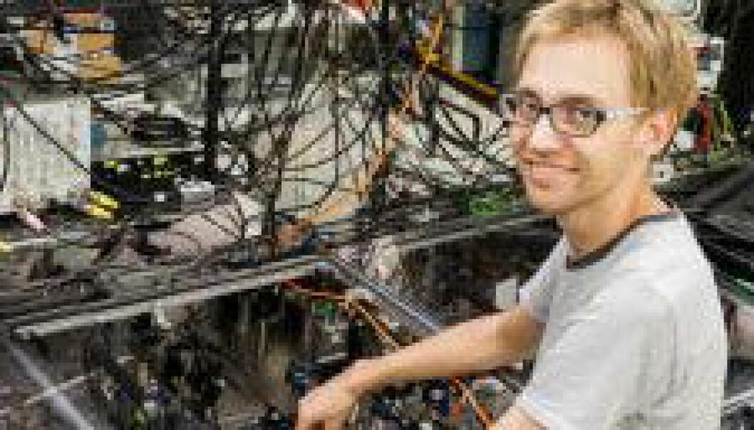 Kvante-teleporterer med lys