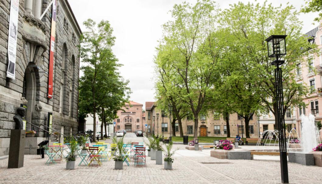 Bankplassen i Oslo kom best ut av eksemplene brukt i studien.