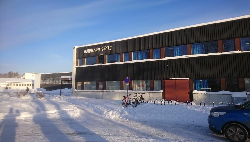 Tilårskommen: Sunnland skole i Trondheim.