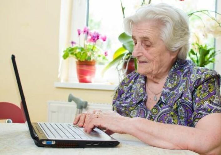 All kommunikasjon med det offentlige skal være digital. Det skaper problemer for mange eldre. (Foto: Shutterstock)