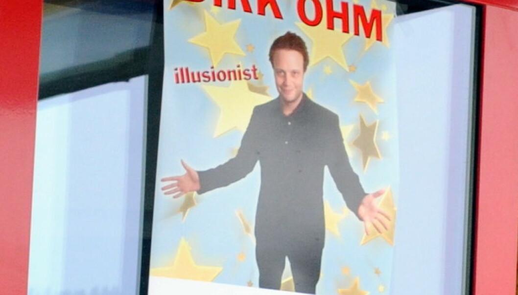 Innspillingen av filmen om illusjonisten Dirk Ohm skapte store økonomiske ringvirkninger i Grong. Morten Stene