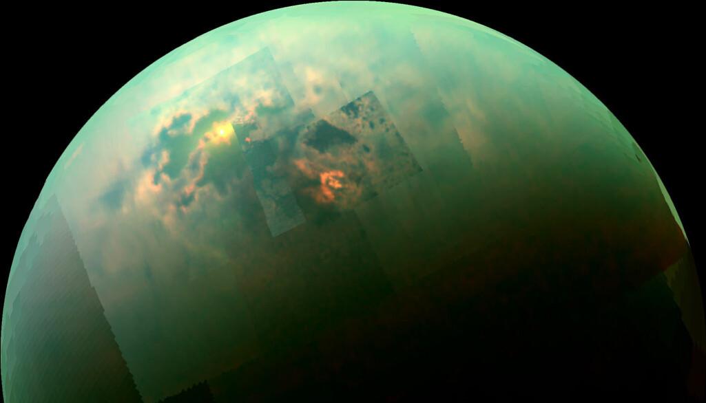 Forskere har laget et globalt kart over landskapet på Titan.