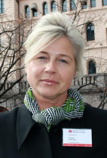Karolina Kublickiene, koordinator ved Centrum för genusmedicin ved Karolinska Institutet i Stockholm, understreker at det er svært viktig og fullt mulig å inkludere kvinner i studier. (Foto: Heidi Elisabeth Sandnes) (Foto: HES)