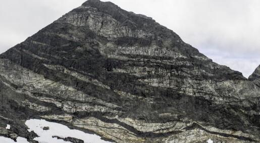 Langs dette fjellet går geologene rett ned i jordas indre