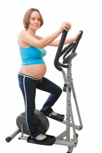 For gravide er det uansett viktig å trene, fordi forskning har vist at trening gir mange andre gunstige effekter, for eksempel mindre rygg- og bekkensmerter.