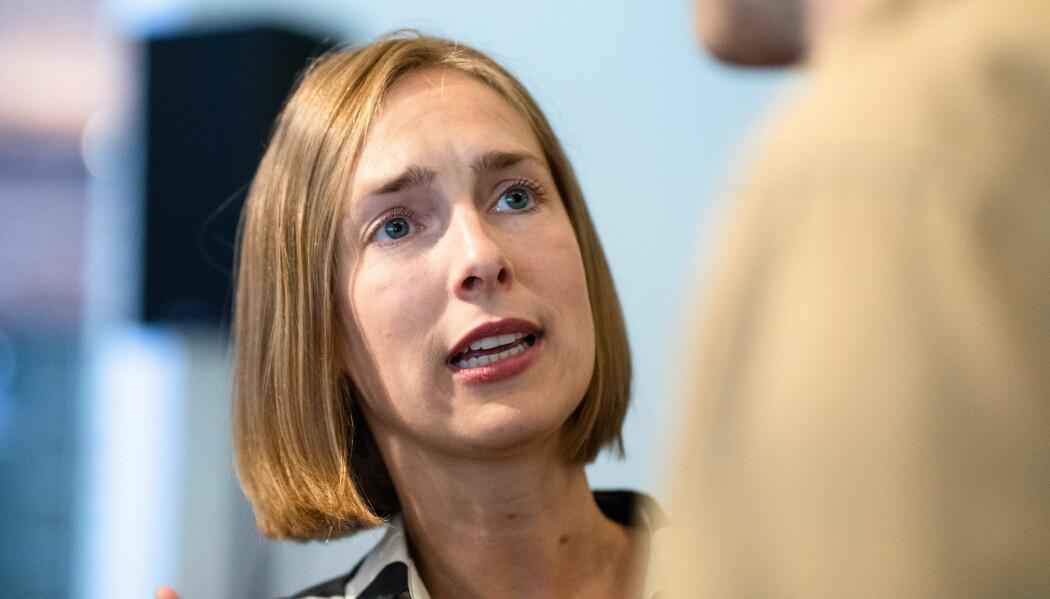 Forsknings- og høyere utdanningsminister Iselin Nybø (V) vil teste universiteter og høyskoler på miljø. Hun annonserte denne uken klimakonkurransen mellom utdanningsinstitusjonene.