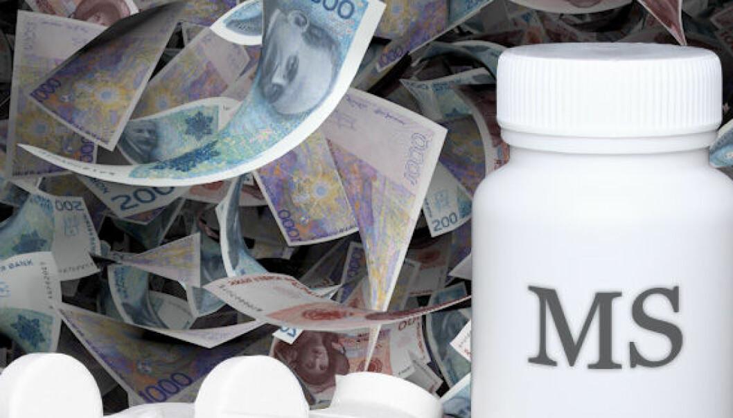 Prisen på multippel sklerose