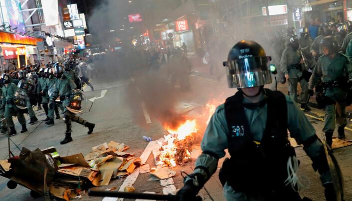 Uroen i Hongkong kan gå hardt ut over den psykiske helsa til innbyggerne