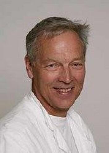 Professor i indremedisin ved UIB, Arnold Berstad. (Foto: UiB)