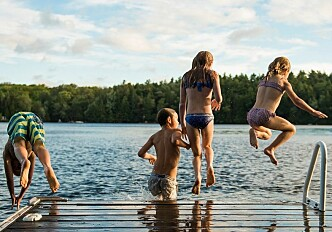 Important for kids to practice swimming outdoors