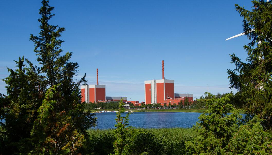 Olkiluoto kjernekraftverk i Finland.