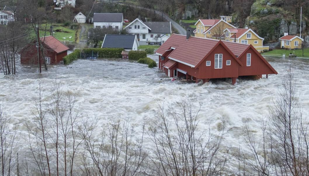 Klimaendringer i Norge: Dette bør du ikke gjøre ved et flomvarsel