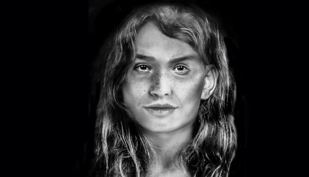 En student i Skottland har prøvd å tenke seg hvordan en guanche-kvinne som levde for lenge siden så ut. Hun har forsøkt å gjenskape utseende etter en hodeskalle av en guanche.