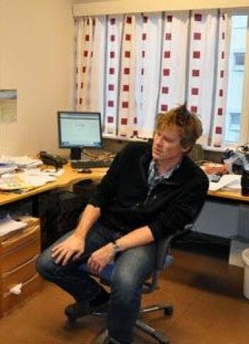 Forsker Per Terje Osmundsen NGU. (Foto: Gudmund Løvø/NGU)