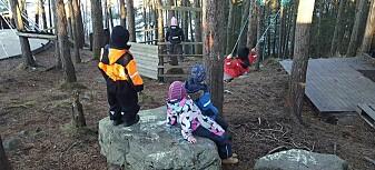 Små uteområder i skoler og barnehager skaper bekymring