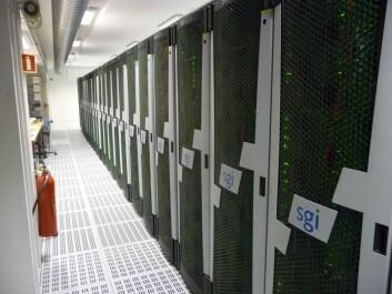 VILJE er NTNUs nyeste supercomputer. Den nye maskinen er så kraftig at den ble rangert blant de 100 raskeste superdatamaskiner i verden i november 2012. NTNU eier VILJE sammen med Meteorologisk institutt. (Foto: Bjørn Lindi)