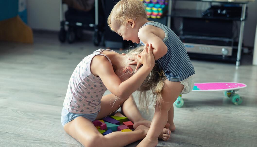 Norske forskere studerer utviklingen av tidlig fysisk aggresjon.