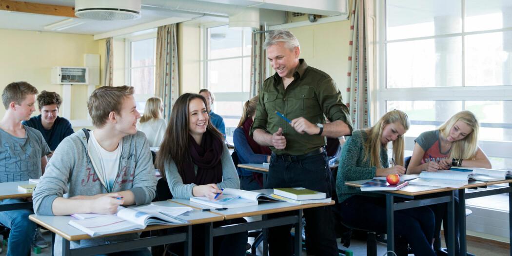 En god lærer er også en som har et godt forhold til sine elever bygget på respekt.