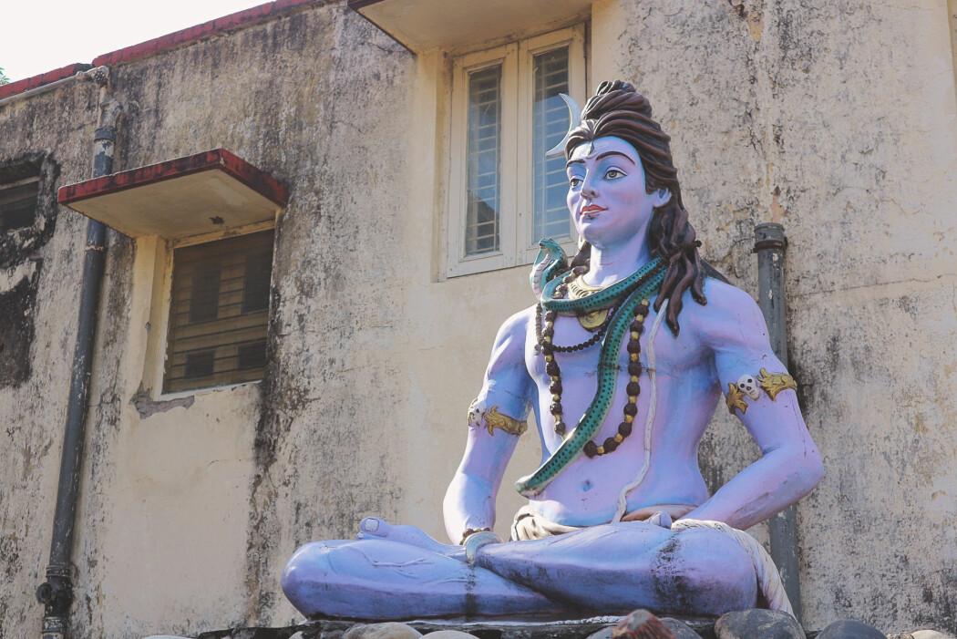Shiva er en av hinduismens viktigste gudommer. Både reinkarnasjon og karma er sentrale elementer i hinduismen.