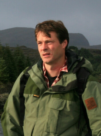 Oskar Puschmann er fotograf og landskapsgeograf ved Norsk institutt for skog og landskap. (Foto: Skog og landskap)