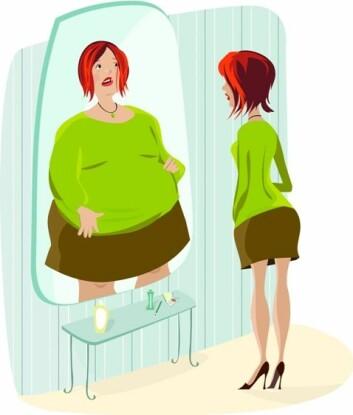 Én av fem jenter tror de er tjukke – uten at de er det. (Foto: (Illustrasjon: www.photos.com))