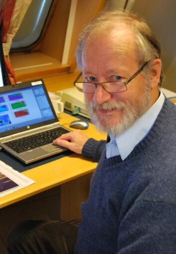 Ken Drinkwater (Foto: Hanne Østli Jakobsen)