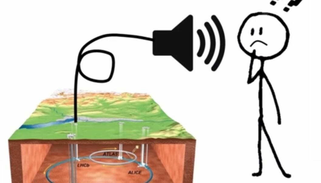 Lyden av antimaterie