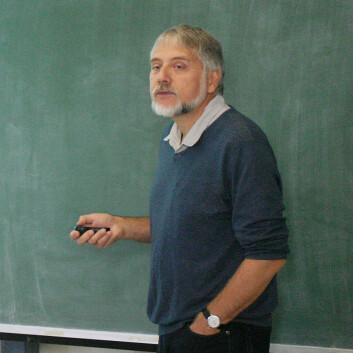 Professor Eystein Jansen. (Foto: Andreas R. Graven)
