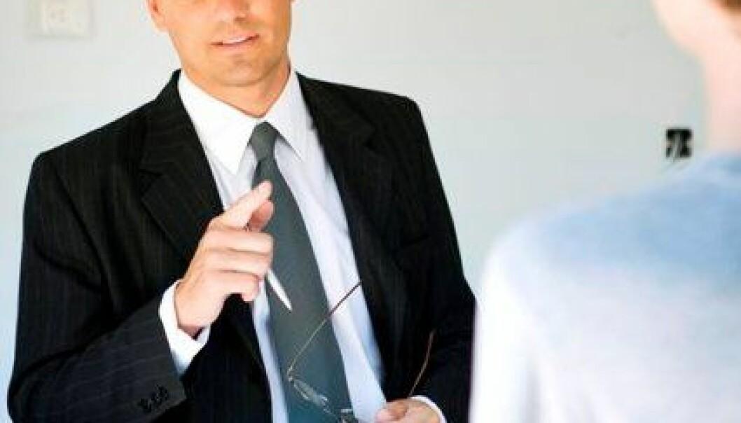 Håndtering av press fra ulike hold er normaltilstanden for mange ledere. (Illustrasjonsfoto: www.colourbox.no)