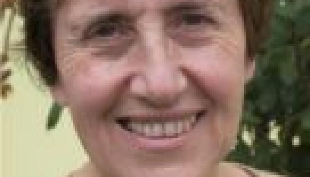 """""""Claudine Hermann er pensjonert professor i fysikk ved École polytechnique i Frankrike. Foto: Marte Ericsson Ryste"""""""