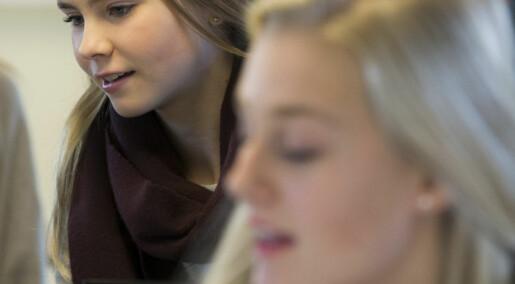 Elever med høyt utdannede foreldre gjør det bedre på nasjonale prøver