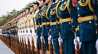 Rapport: Kina er verdens nest største våpenprodusent