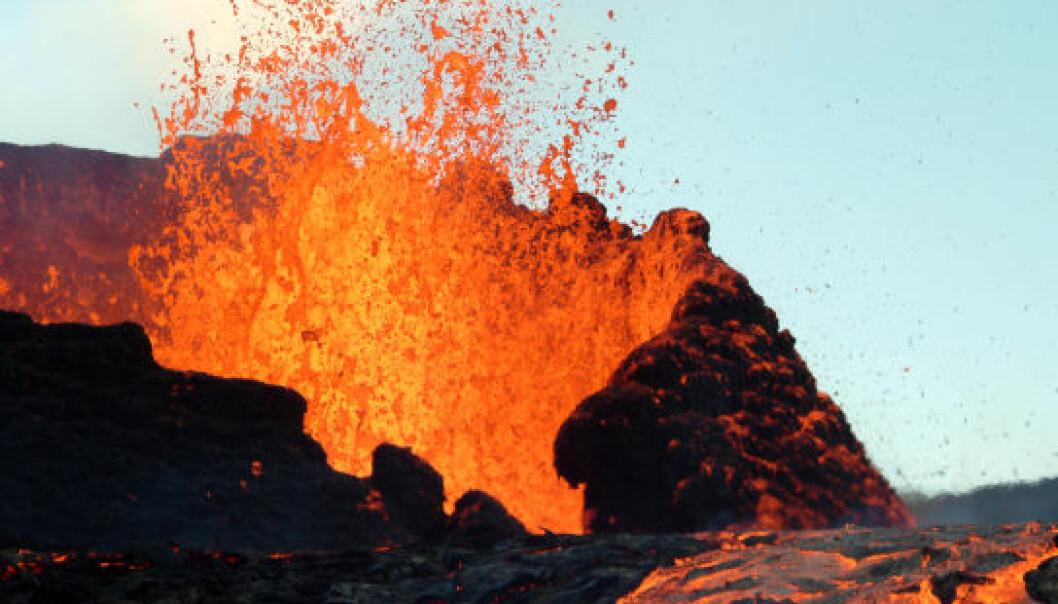 Supervulkan var skyld i klimaendringer