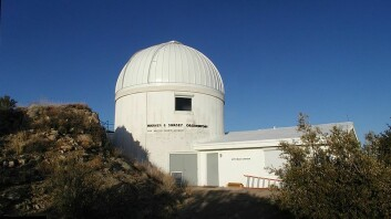Luu og Jewitt startet letingen etter Kuiperbeltet ved hjelp av et 1,3 meter bredt teleskop på Kitt Peak National Observatory i Arizona. Luu mener slike relativt små teleskoper vil være essensielle for videre oppdagelser i verdensrommet. (Foto: Tom Reding/Wikimedia Creative Commons)