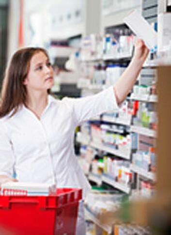 Mange stoffer må testes for hvert nytt legemiddel vi får tilgang til på apoteket. (Foto: Shutterstock)