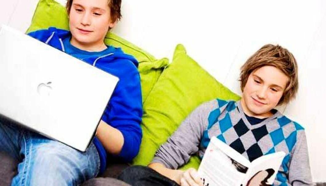 Svake elever sliter mest med lesing på skjerm