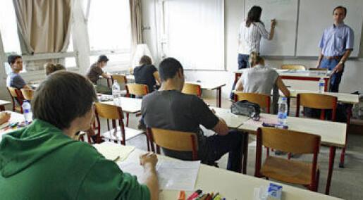Taper i skolen uten stabile voksne