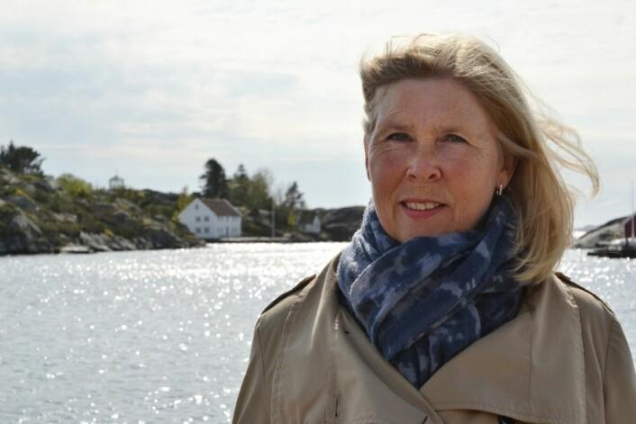Historiker Berit Eide Johnsen har forsket på om kyst- og sommerturisme i Skandinavia. Hun ser at trender og impulser gradvis har flyttet seg fra land til land. (Foto: Jan Arve Olsen)