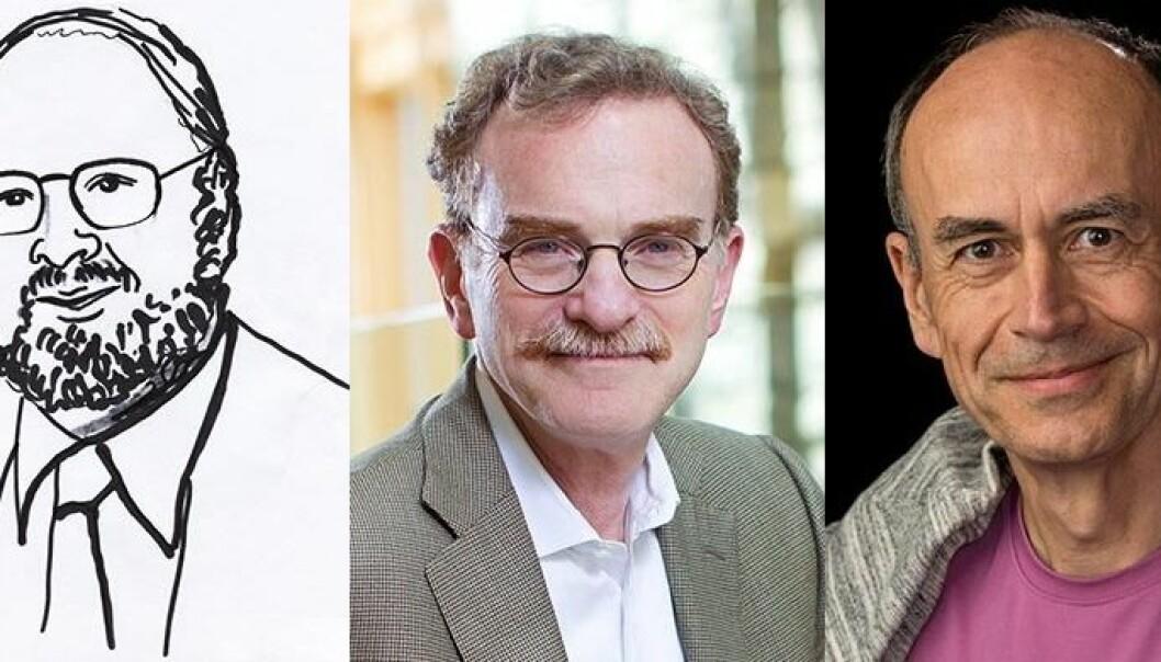 James E. Rothman og Randy W. Schekman er amerikanere, mens Thomas C. Südhof er født i Tyskland. Sammen vant de årets Nobelpris i fysiologi eller medisin. Nobelprize.org