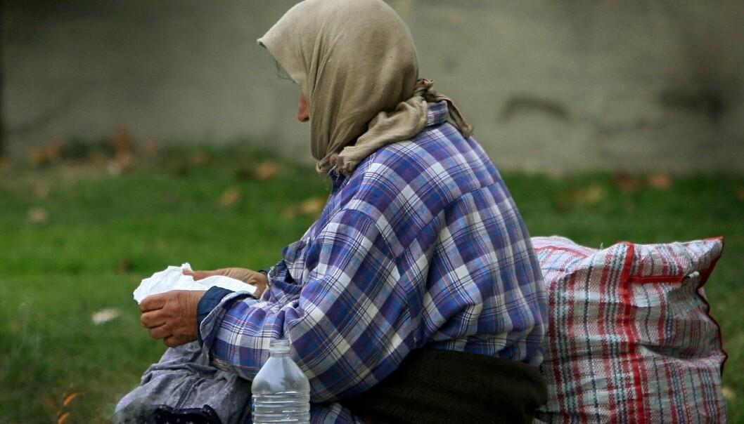Fattigdom avler materialisme
