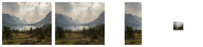 De redigerte naturlandskapsbildene ble vurdert like vakker som originalbilde