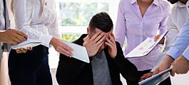 En truet leder lytter mindre til gode råd