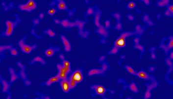 Kart over mørk materie