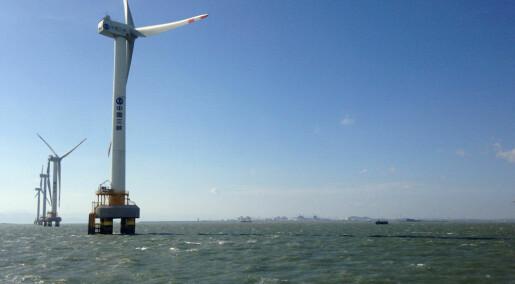 Kinesiske myndigheter satser stort på grønn energi