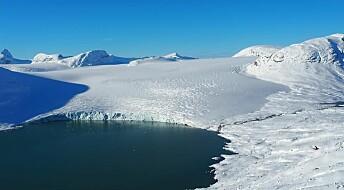 Fått støtte til forskning på Jostedalsbreen