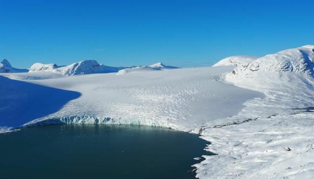 Eit prosjekt som kartlegg Jostedalsbreen og endringar i den, er blant prosjekta som har fått støtte frå Forskingsrådet.