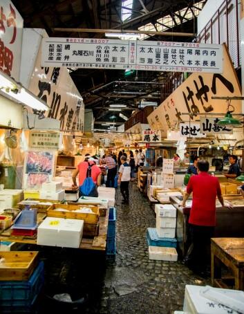 Etter at japanerne fikk smaken på norsk makrell, er det den de helst vil ha. Her fra et fiskemarked i Tokyo. (Foto: Colourbox)