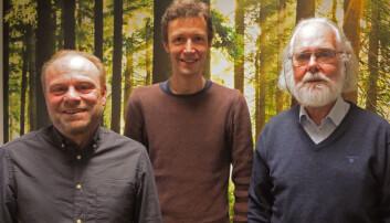 Forskerne: Kjetill S. Jakobsen (t.v.), Boris V. Schmid og Nils Chr. Stenseth.